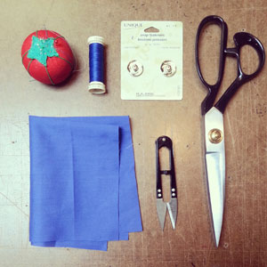 How to Sew Fabric Covered Snaps