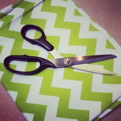 Beginner Sewing Terms Tilted Fabric Shears Scissors
