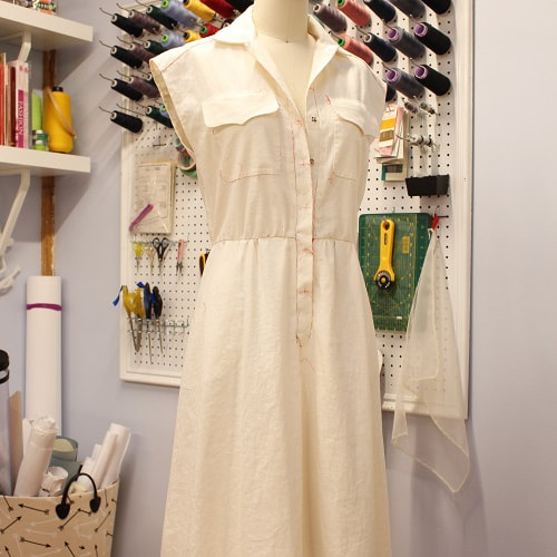 Couture Vintage 70's Oscar de la Renta Dress