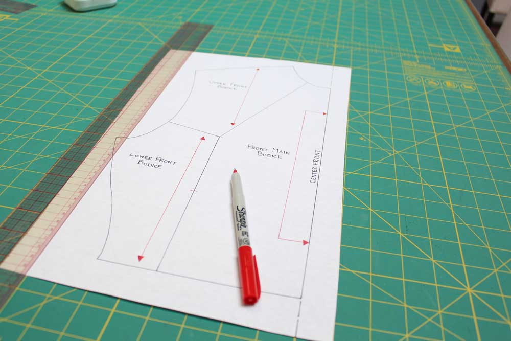 Pattern Drafting Tip