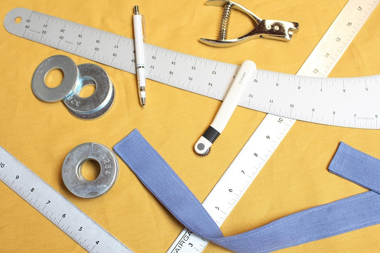 Crossback Apron Drafting Supplies