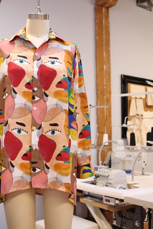 Rainbow Faces Tailored Shirt